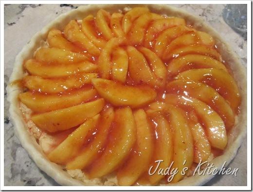 peach frangipane tart (2)