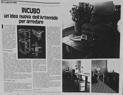 Intondo Cubo by Rodolfo Bonetto for Artemide