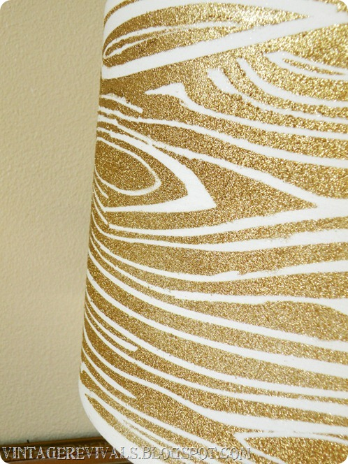 Wood Grain Lampshade 020