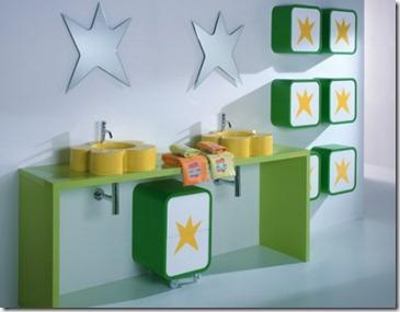 Baños Modernos para Niños7