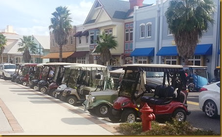 golf carts in town