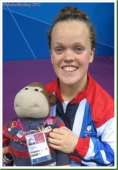 Ellie Simmonds London 2012