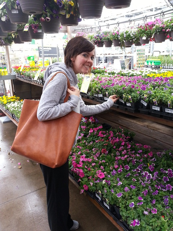 Choosing flowers for a vertical garden