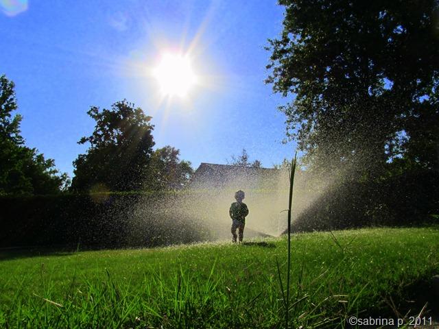 summer soaking