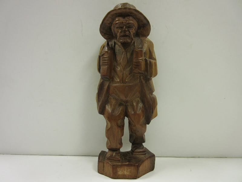 Carving of Old Man