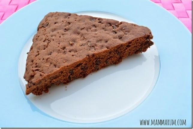 torta cookies doppio cioccolato