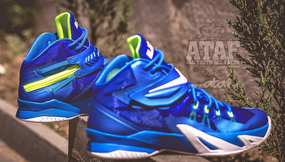 0885c284540 ... Available Now Nike Zoom LeBron Soldier VIII 8 Sprite ...