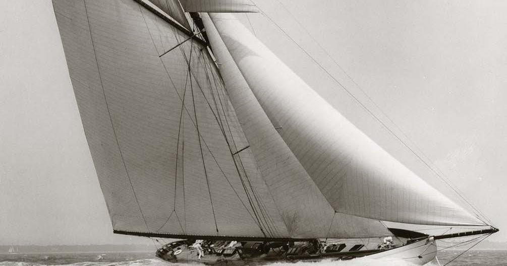 Donan Raven S Sailing Trivia Lulworth 1920