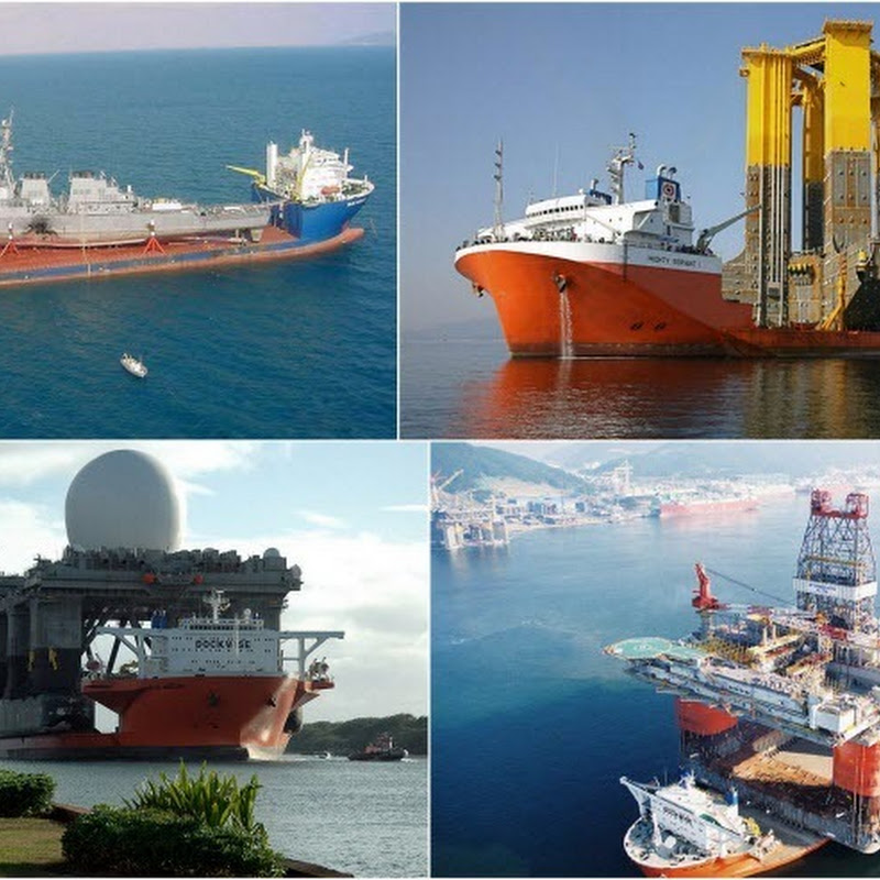 Heavy Lift Ships and their Impossibly Massive Cargoes