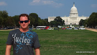 Tourist vor dem Capitol