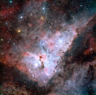Nebulosa Carina no visível