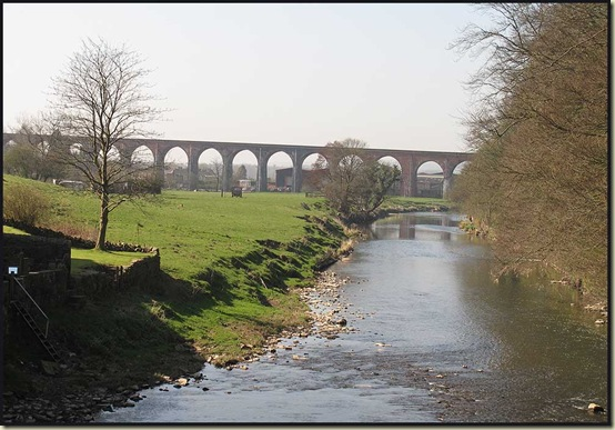 The viaduct at Whalley
