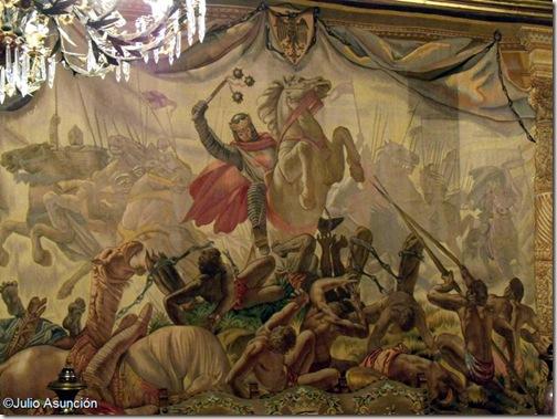 Tapiz de las Navas de Tolosa - Palacio de Navarra - Pamplona