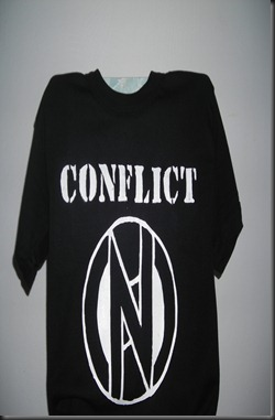 CONFLICT t-shirt