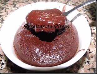 Pote de chocolate interior