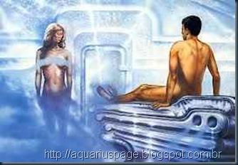 Sexo entre Humanos e ETs