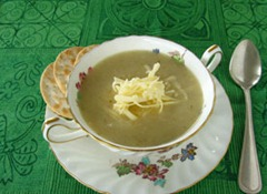 Cauli Cheese Soup