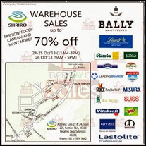 Shriro Food & Beverages Warehouse Sale 2013 Malaysia Deals Offer Shopping EverydayOnSales
