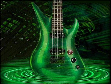 439560green-guitar-wallpaper