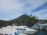 Gunung Jailolo seen from Jailolo pier (Dan Quinn, February 2013)