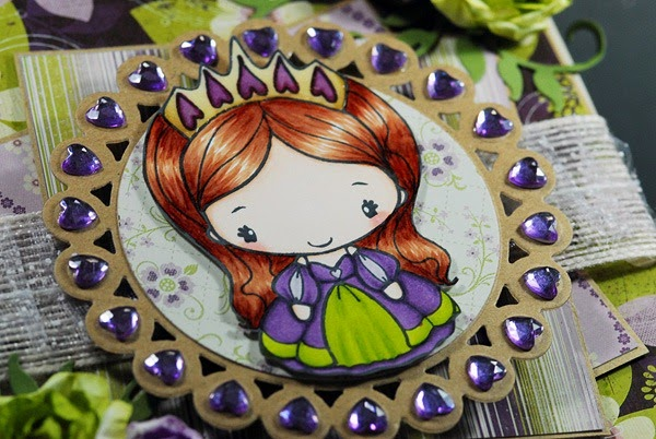 princess-anya-no.3-the-greeting-farm-by-indah-stick-pin-easel-card-detail01