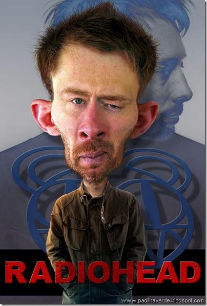 Caricatura Thom Yorke