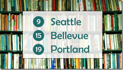 Most well-read cities in the Pacific Northwest