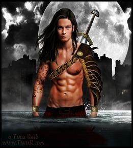 sexy highland warrior