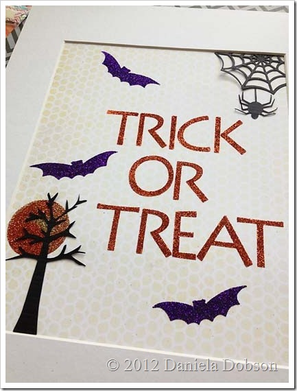 Trick or treat Daniela Dobson