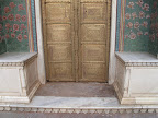 City Palace door