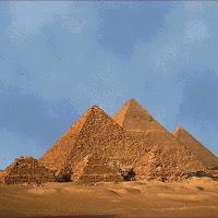 14.- Pirámides de Gizeh