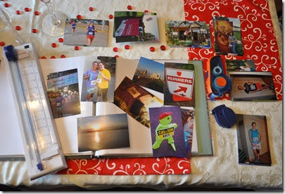 Running Race Scrapbooks 8