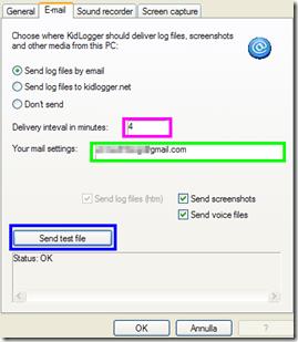 KidLogger - E-mail