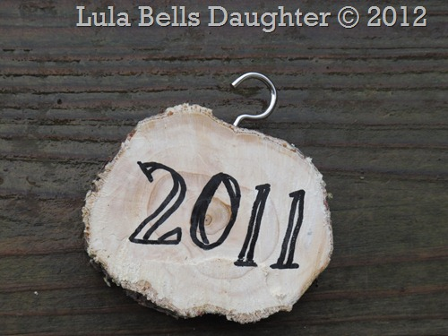 lulabellsdaughter Christmas Tree Branch Ornament
