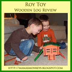 Roy Toy, Lincoln Logs, made in the USA, building blocks