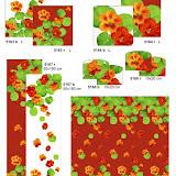 Gobeliny w nowoczesne wzory, poduszki i obrus (narzutka)