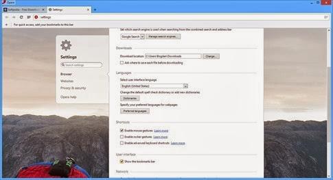 Opera 19 es la versión más potente del navegador web