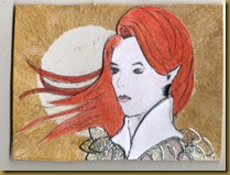 Flame Haired girl