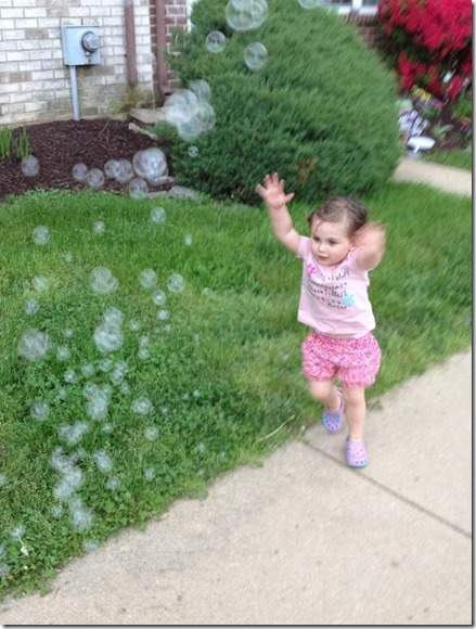 Cassidy and the bubble gun