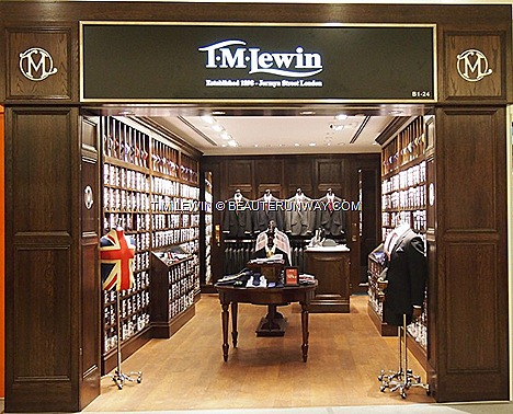 T.M.Lewin shirts Jermyn Street London quality men's tailored shirts, ties, cufflinks, accessories suits ladies different cuts body shapes fashion preferences collar sizes sleeve length distinctive  custom fit.
