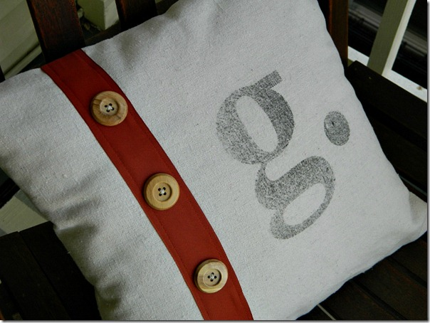 drop_cloth_monogram_pillow_button_ribbon