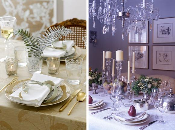 Decoración navideña de mesa