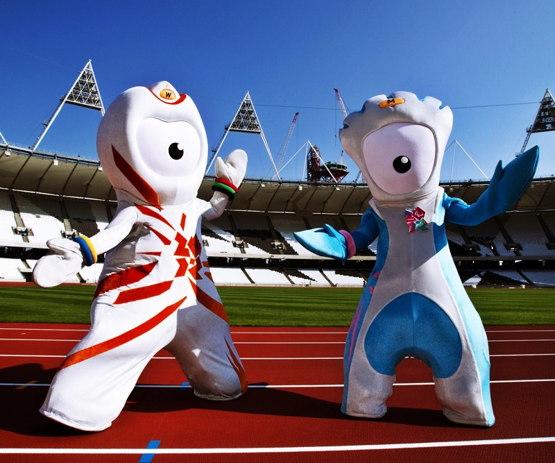 London olympic games 2012 mascot wenlock mandeville