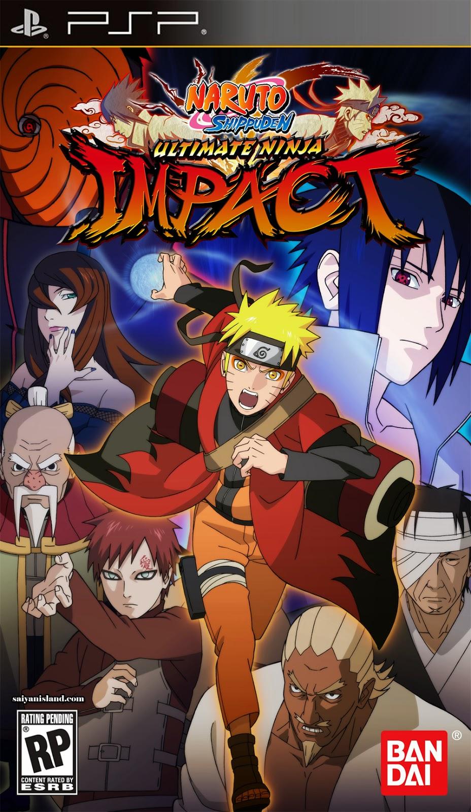 Download naruto shippuden - ultimate ninja impact (u)(m3)(playasia) rom / iso for psp from rom hustler