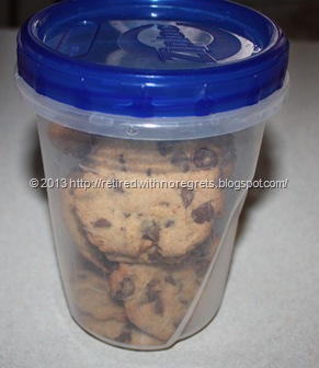 Simple Gluten-Free Chocolate Chip Cookies - storing