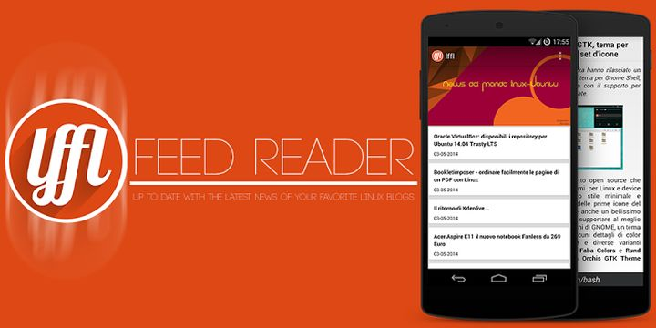 lffl feed reader per Android