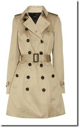 Burberry Prorsum Mid Length Trench Coat
