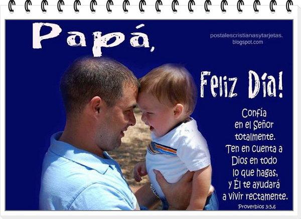 postal para el padre para imprimir