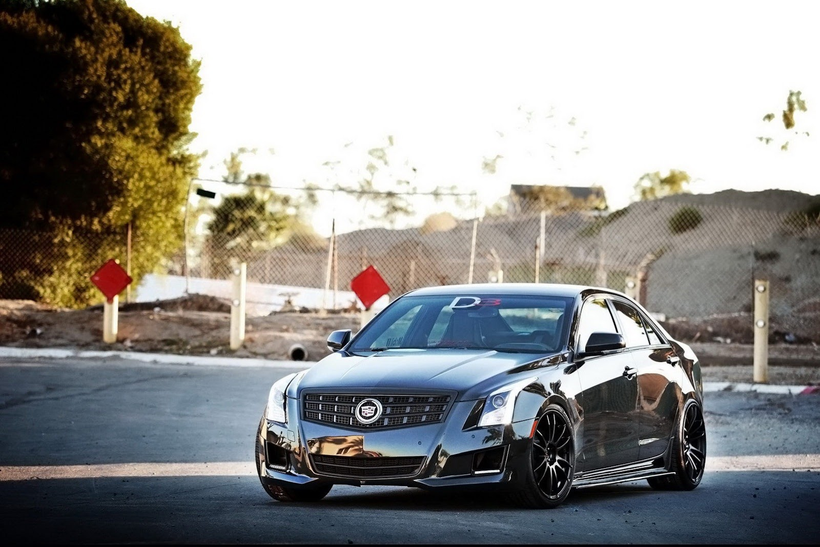 modded Cadillac ATS