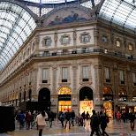 Galleria Vittorio Emanuele II in Milan, Milano, Italy
